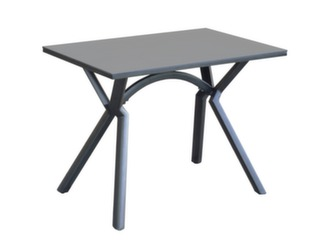 Table LOANE 120 SP Black B / Brun
