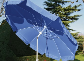 Parasol droit inclinable Ø 270 cm
