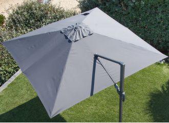 Toile pour parasol déporté 2.7 x 2.7 m LED