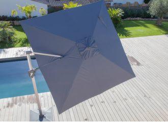 Parasol déporté Roma 2.7x2.7 m orientable