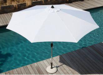 Parasol droit Ø 300 cm Anodisé