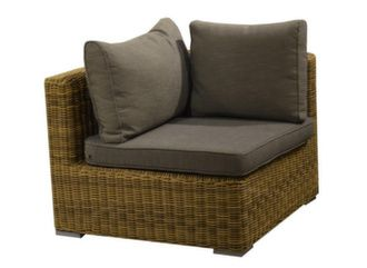 Fauteuil d'angle Rattan