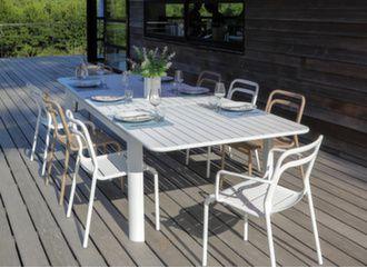 Table de jardin 220/280 cm