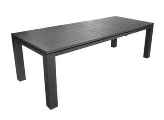 Table Latino 180/240 cm, finition Brush