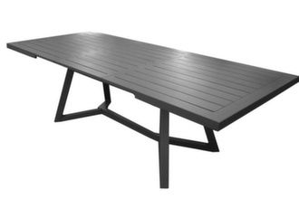 table jardin alu extensible