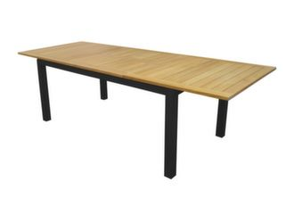 Table Evora 160/220 cm, plateau Eucalyptus