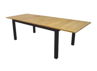 Table Evora 160/220 cm, plateau Eucalyptus