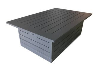 table basse de jardin relevable