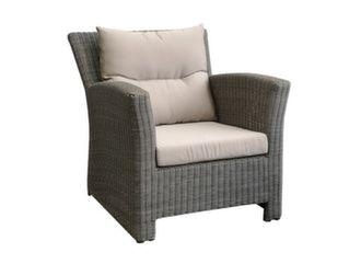 fauteuil de jardin en résine
