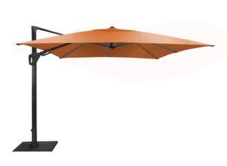 Parasol déporté Elios Sunbrella® 3x3 m orientable