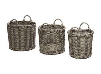 Lot de 3 cache-pots