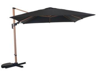 Parasol déporté LB 3 x 3 m orientable