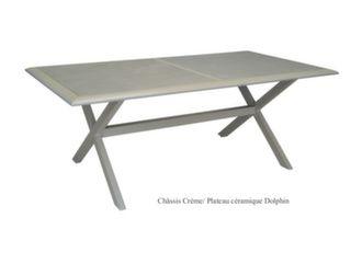 Table Ceram 198 cm, plateau Kedra®