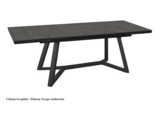 Ma table Agira 180/240 cm, plateau à lames Trespa®