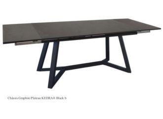 Ma table Agira 180/230/280 cm, plateau Kedra®