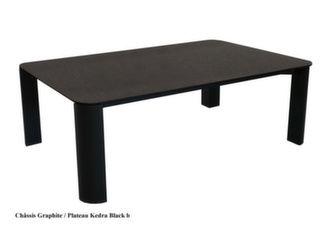 Table basse Eole II 120 x 80 cm, plateau Kedra®