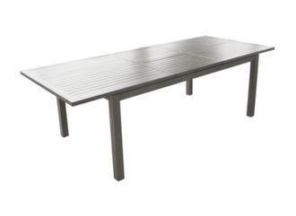 Table Milano 220/300 cm + 8 chaises Antibes