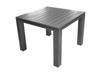 Table Latino carrée 98 cm + 4 chaises Antibes