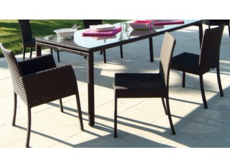 Chaise empilable Azur