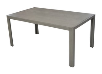 Table MT 160 cm, alu/polywood