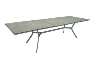 Table Dolus 220/300 cm, plateau Trespa®