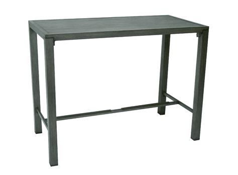 Proloisirs table de jardin haute milano mobilier de jardin for Mobilier table haute