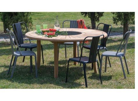 chaise azuro rouge chaises de salon de jardin. Black Bedroom Furniture Sets. Home Design Ideas
