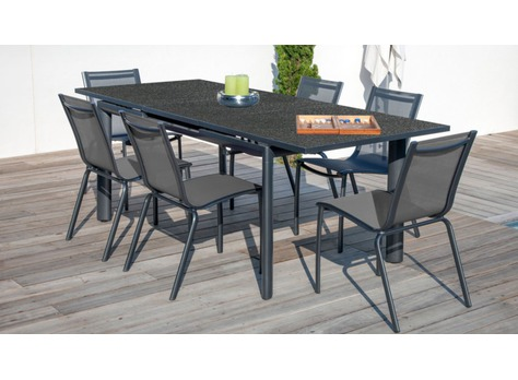 table floride tables de jardin proloisirs sp cialiste du mobilier de jardin contemporain. Black Bedroom Furniture Sets. Home Design Ideas