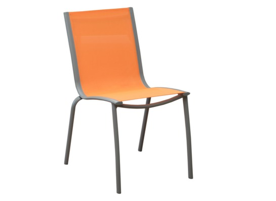 Salon de jardin table 280cm brasa 4 chaises proloisirs - Chaise salon de jardin orange ...