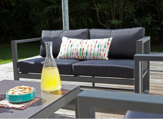 ensemble d tente manhattan set complet salons bas de jardin mobilier de jardin. Black Bedroom Furniture Sets. Home Design Ideas