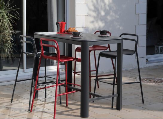 tables hautes de jardin manges debout pour jardin. Black Bedroom Furniture Sets. Home Design Ideas