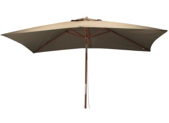 parasol en bois rectangle 3x2m proloisirs. Black Bedroom Furniture Sets. Home Design Ideas