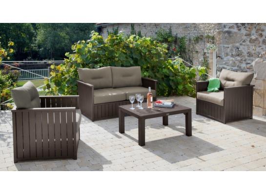 table basse rectangulaire milano tables basses de jardin. Black Bedroom Furniture Sets. Home Design Ideas