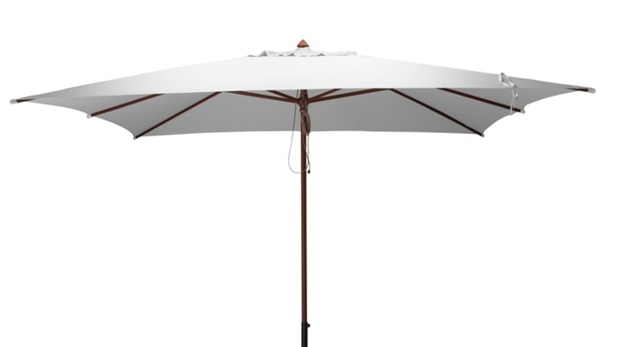 proloisirs parasol en bois 3x4m parasols. Black Bedroom Furniture Sets. Home Design Ideas