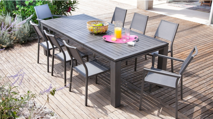 Table Fiero 200 300 Ice Tables De Jardin Proloisirs