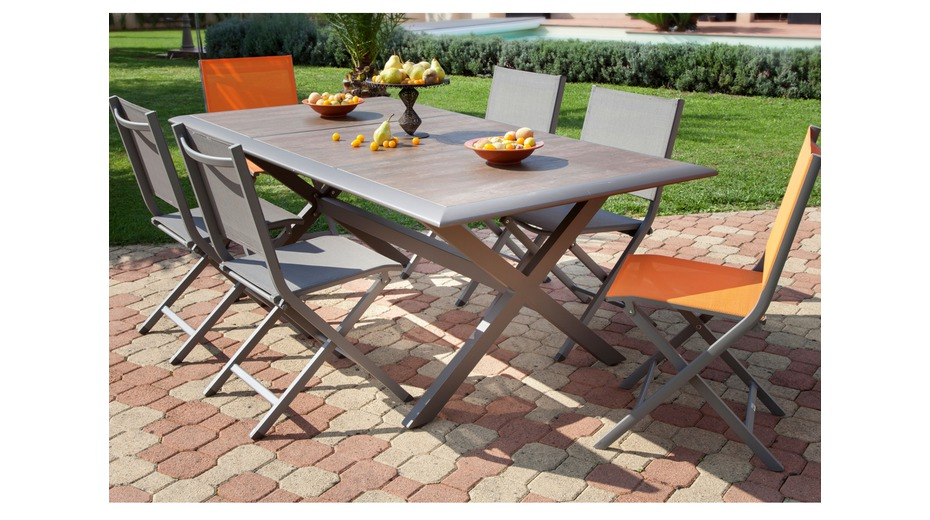 Table Ceram Cafe Tables De Jardin Proloisirs