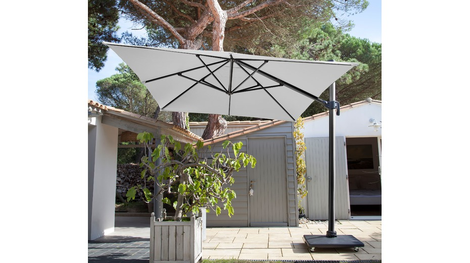 parasol d port 3x4 m parasols droits et d port s proloisirs sp cialiste du mobilier de. Black Bedroom Furniture Sets. Home Design Ideas